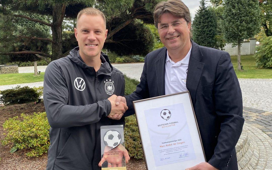 Deutscher Fussball Botschafter e.V. meets Marc-André ter Stegen