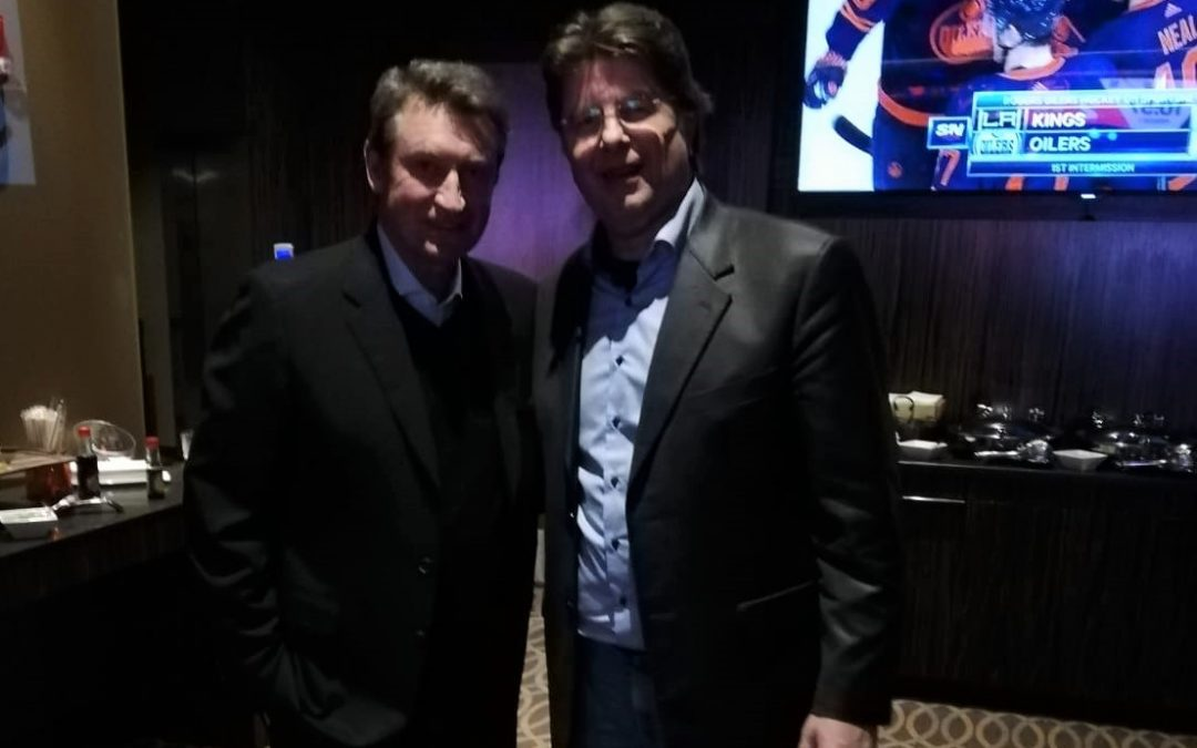 Trailing the footsteps of Wayne Gretzky