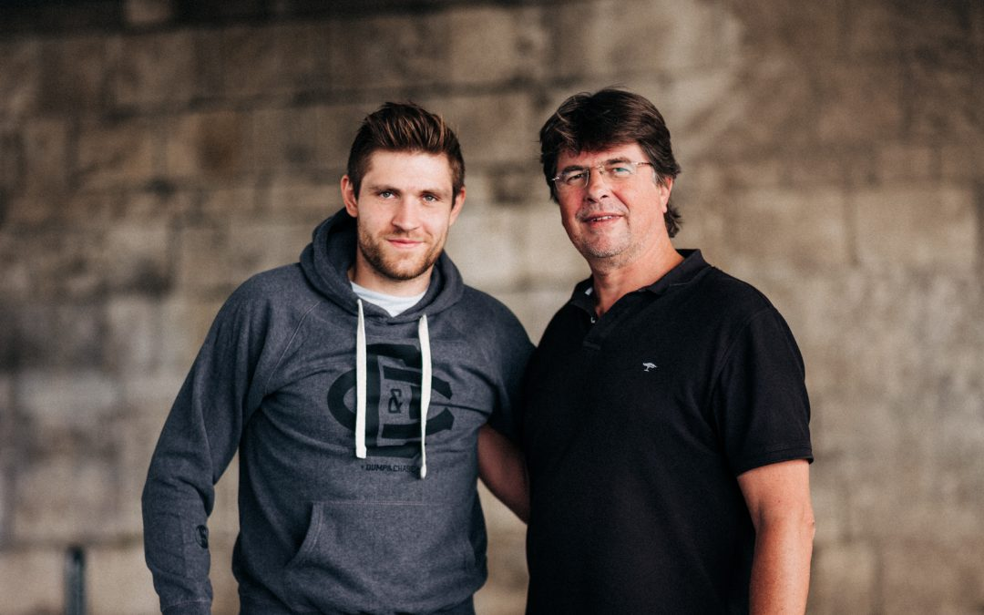 Dump & Chase photoshooting with Leon Draisaitl