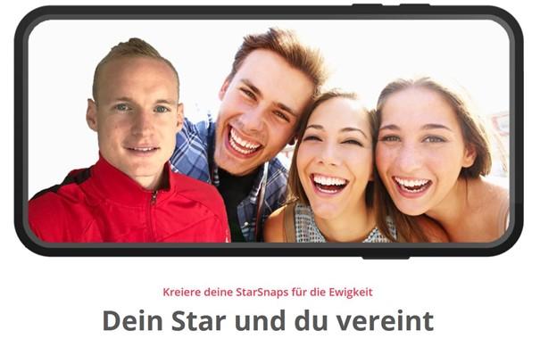 Sebastian Rode and StarSnap launch selfie app for fans